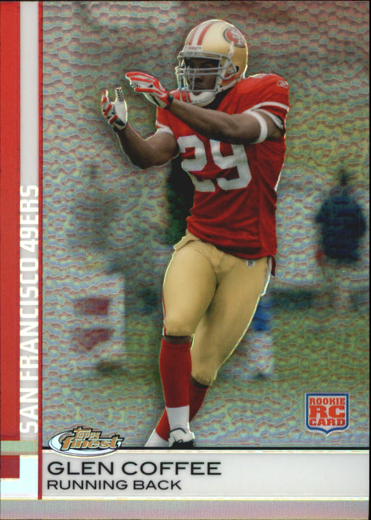 2009 Finest Pigskin Refractors #87 Glen Coffee