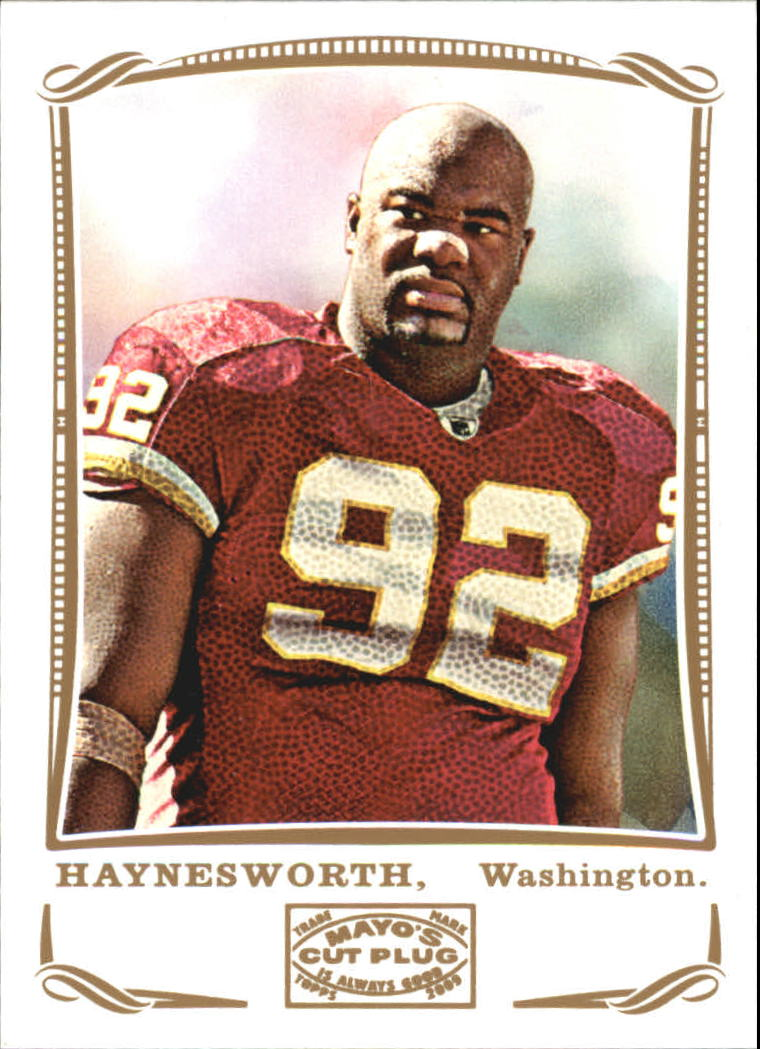 2009 Topps Mayo #10 Albert Haynesworth