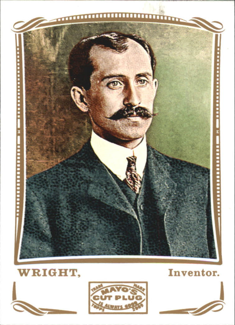 2009 Topps Mayo #84 Orville Wright inventor