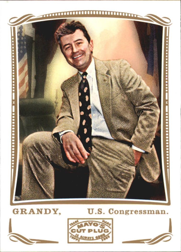2009 Topps Mayo #203 Fred Grandy Congress