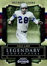 2009 Playoff Contenders Legendary Contenders #83 Yale Lary