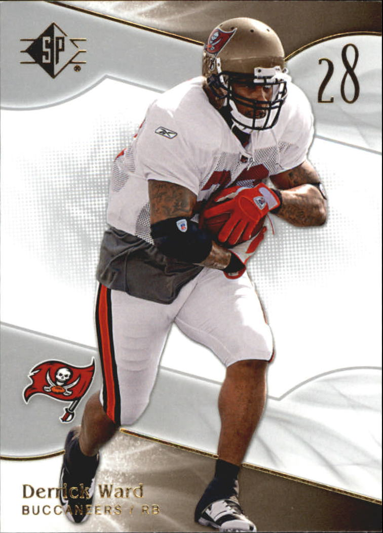 2009 SP Authentic Retail #8 Derrick Ward