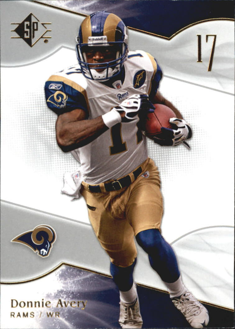 2009 SP Authentic Retail #12 Donnie Avery