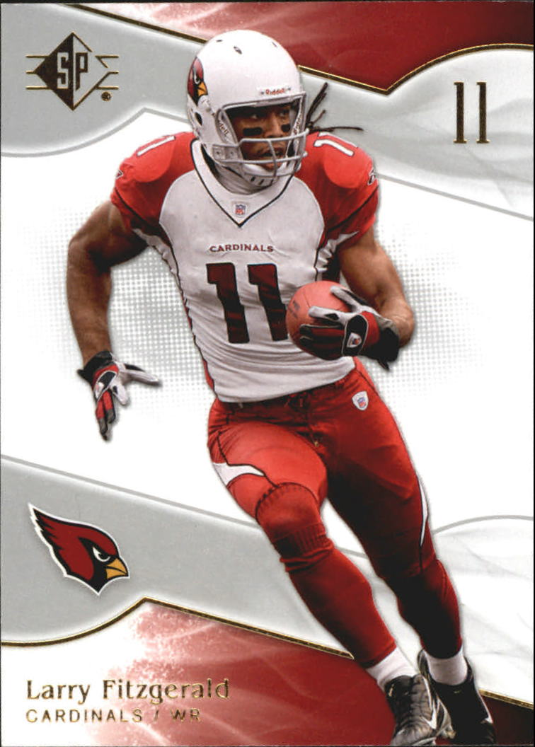 2009 SP Authentic Retail #100 Larry Fitzgerald