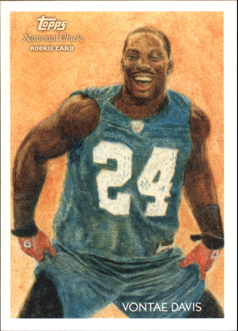 2009 Topps National Chicle #4 Vontae Davis RC