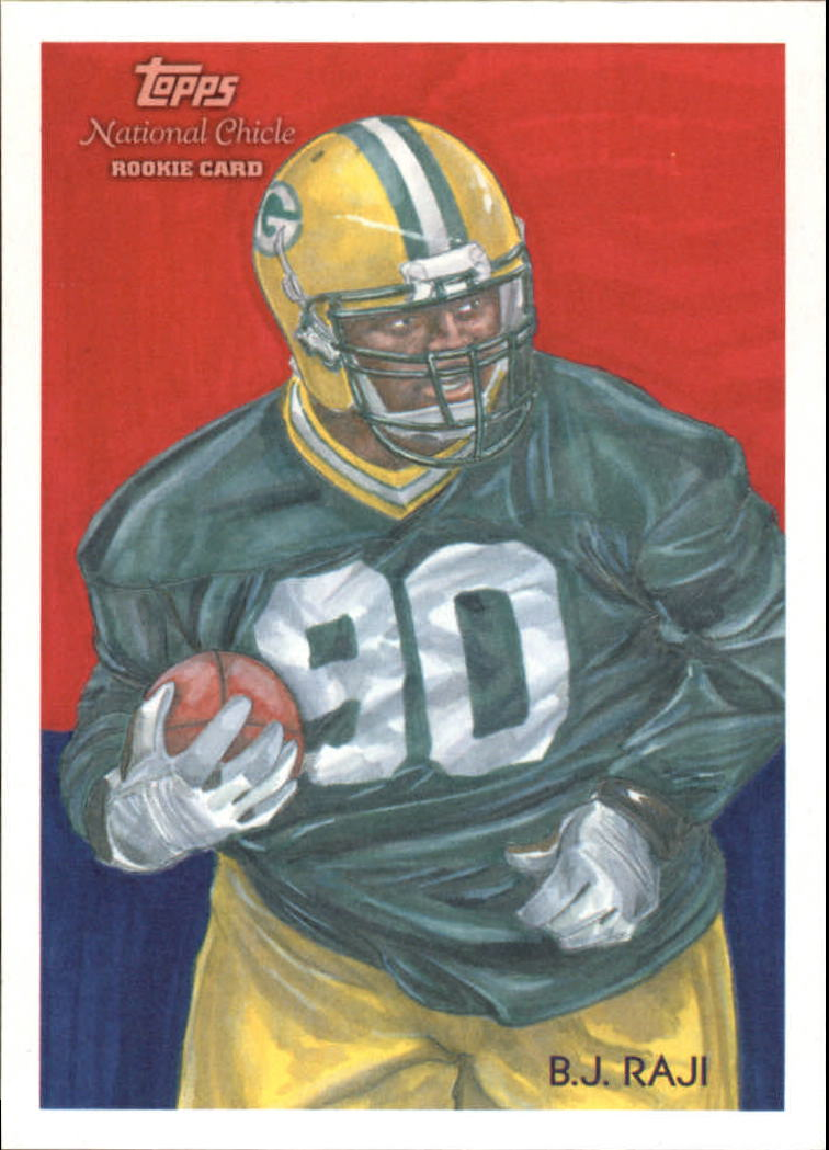 2009 Topps National Chicle #18 B.J. Raji RC