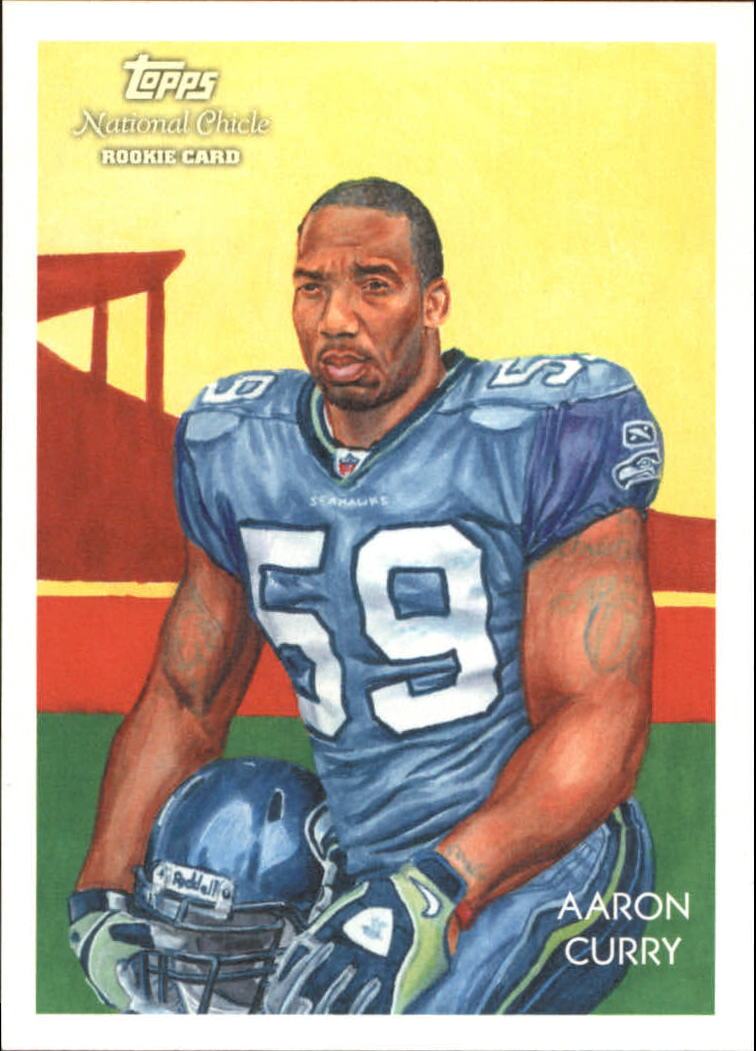 2009 Topps National Chicle #23 Aaron Curry RC