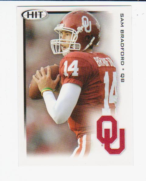 2010 SAGE HIT #14 Sam Bradford DP