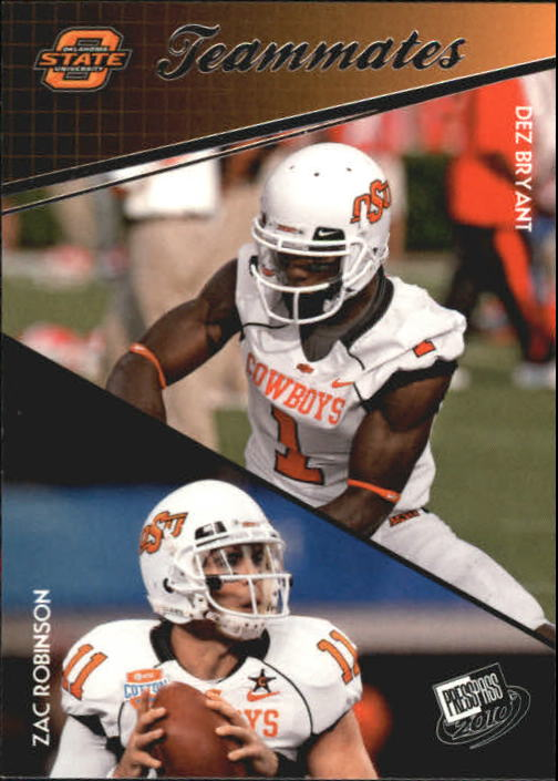 2010 Press Pass #93 Dez Bryant TM/Zac Robinson