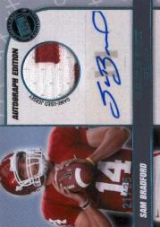 2010 Press Pass PE Game Day Gear Jerseys Autographs #GDGSB Sam Bradford