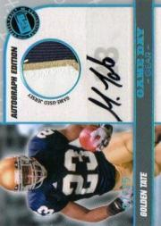 2010 Press Pass PE Game Day Gear Jerseys Autographs #GDGGT Golden Tate