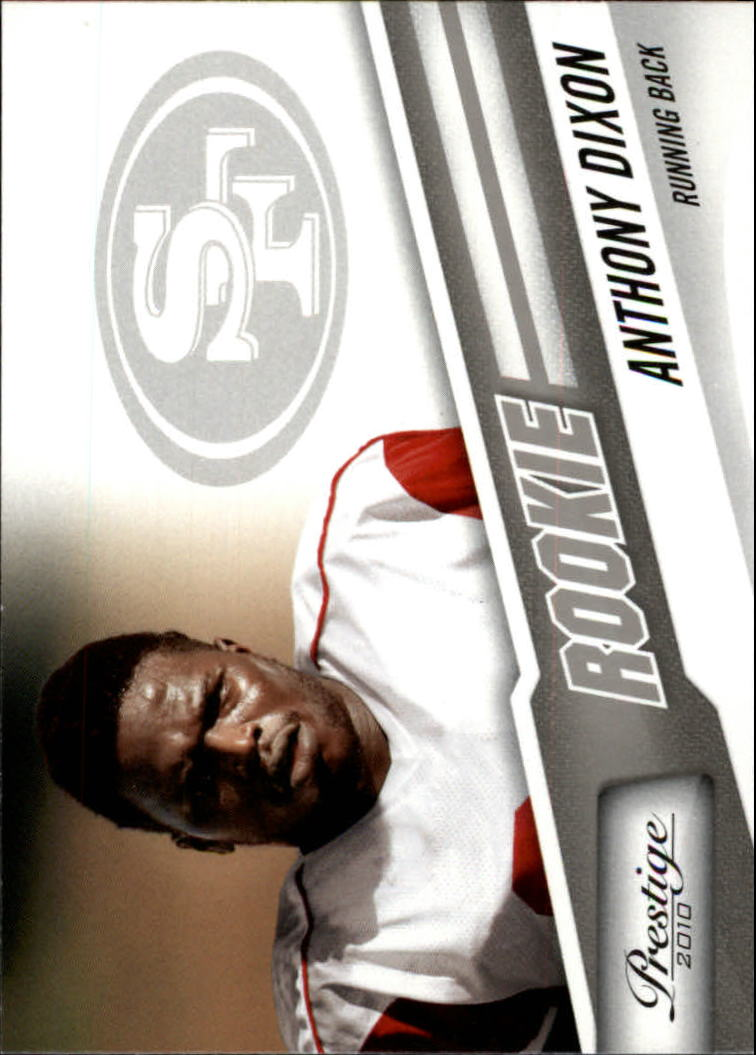 2010 Prestige #205 Anthony Dixon RC