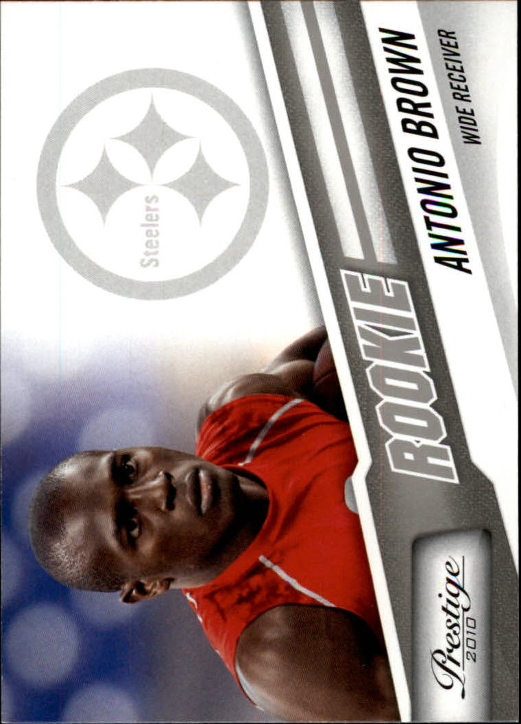 2010 Prestige #207 Antonio Brown RC