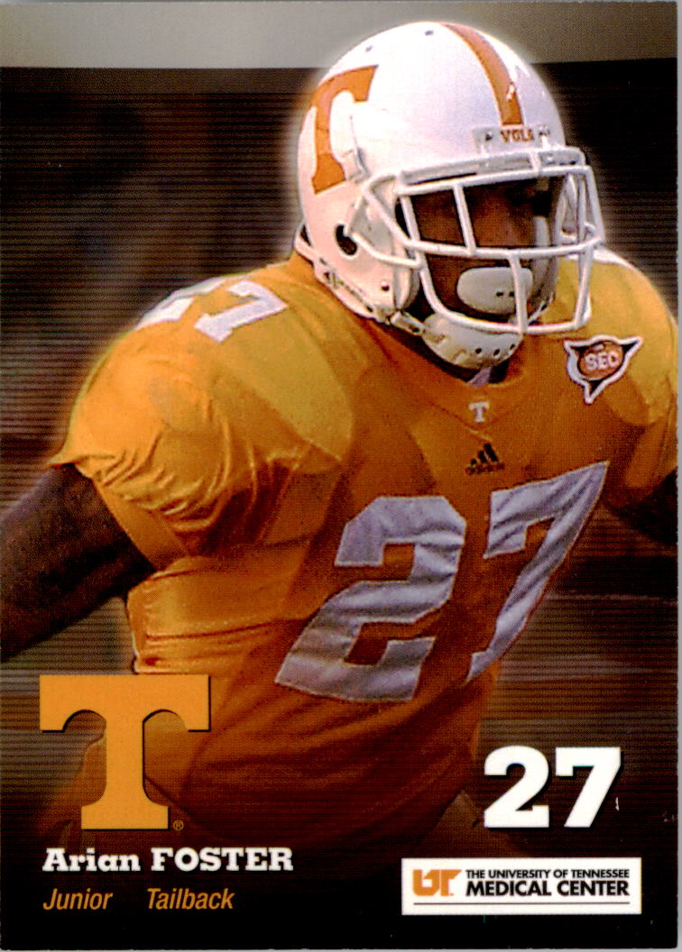 2007 Tennessee #4 Arian Foster