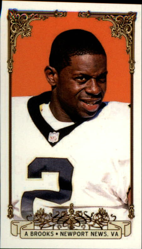 2001 Private Stock PS-2001Small Card Numbers #61 Aaron Brooks