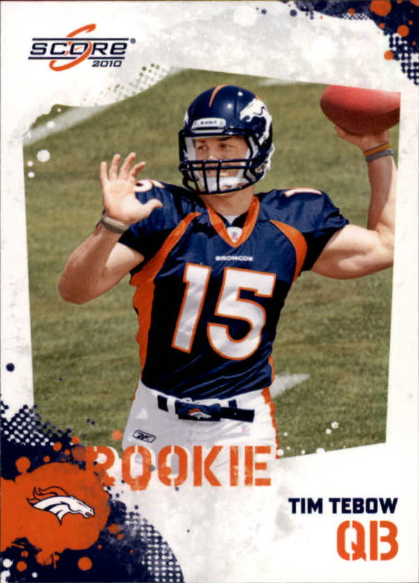 2010 Score #396 Tim Tebow RC