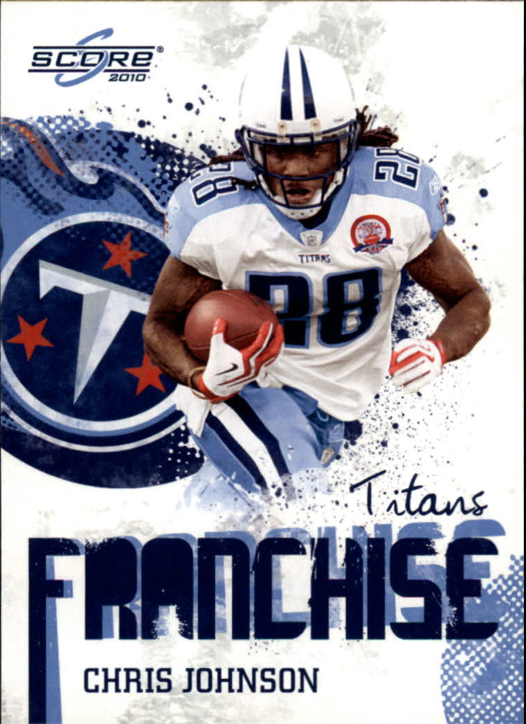 2010 Score Franchise #11 Chris Johnson