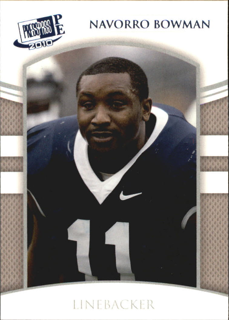 2010 Press Pass PE Blue #4 NaVorro Bowman