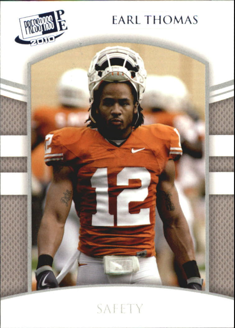 2010 Press Pass PE Blue #47 Earl Thomas