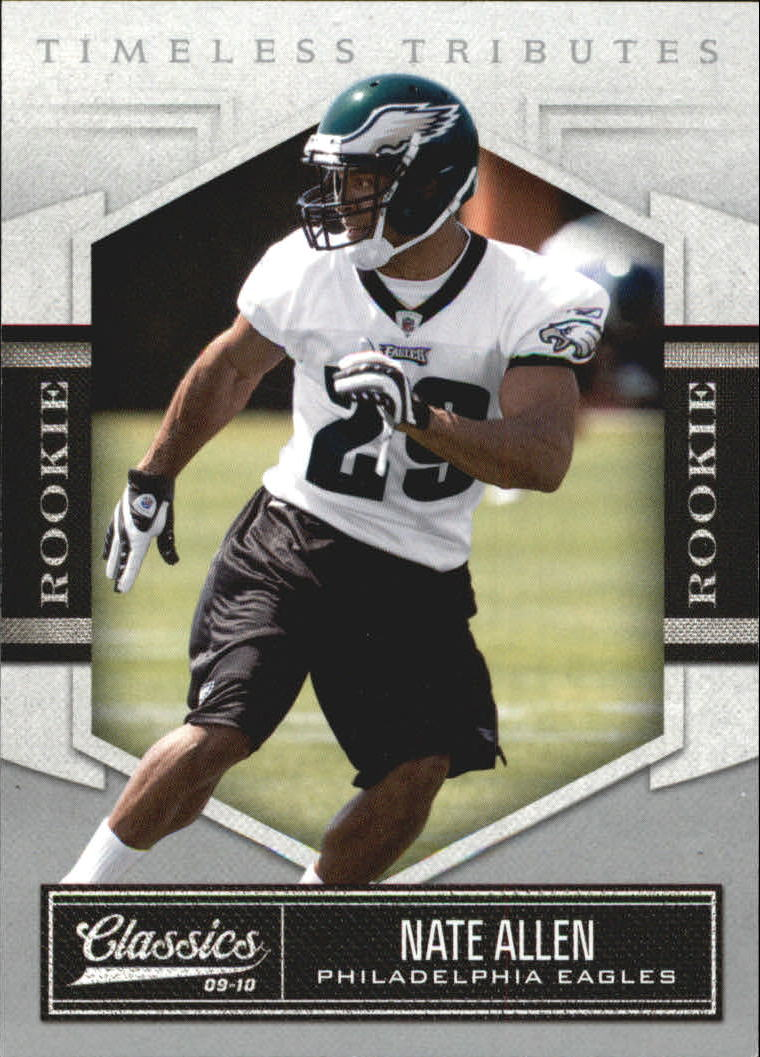 2010 Classics Timeless Tributes Silver #174 Nate Allen