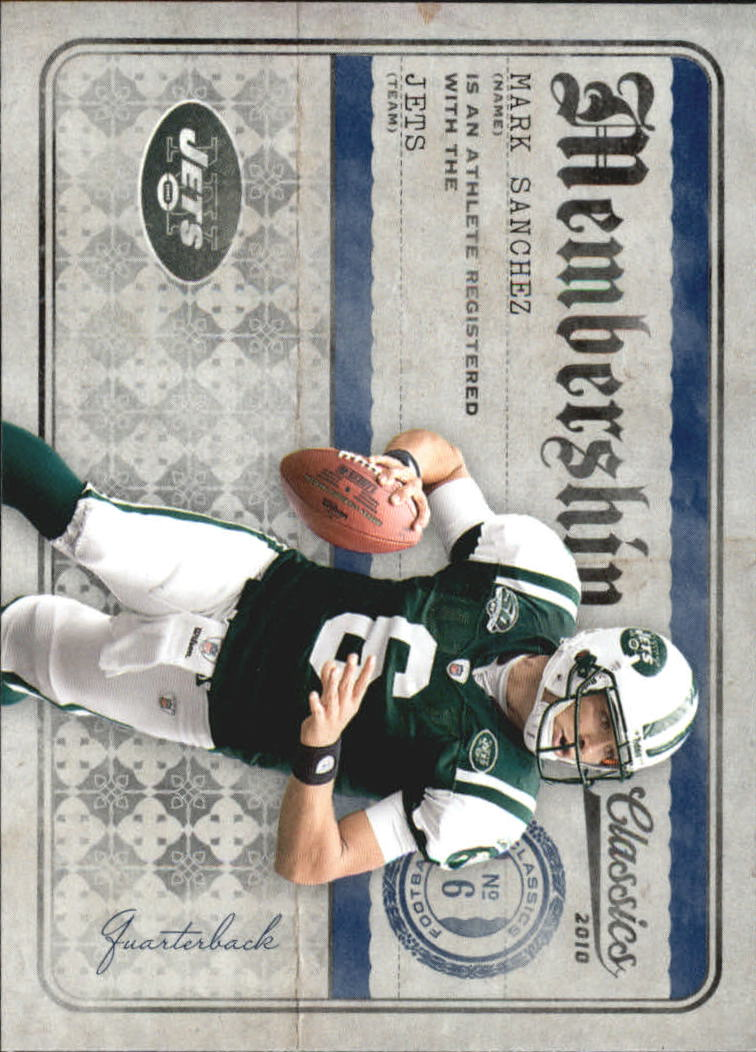 2010 Classics Membership #3 Mark Sanchez
