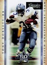 2010 Classics Cowboys 50th Anniversary #4 Tony Dorsett