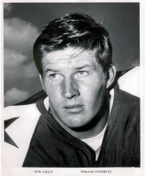 1960-63 Cowboys Team Issue 8x10 #21 Bob Lilly portrait