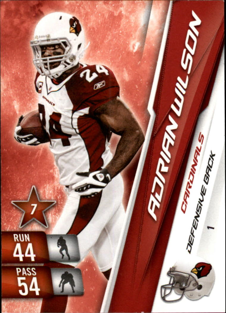 2010 Adrenalyn XL #1 Adrian Wilson