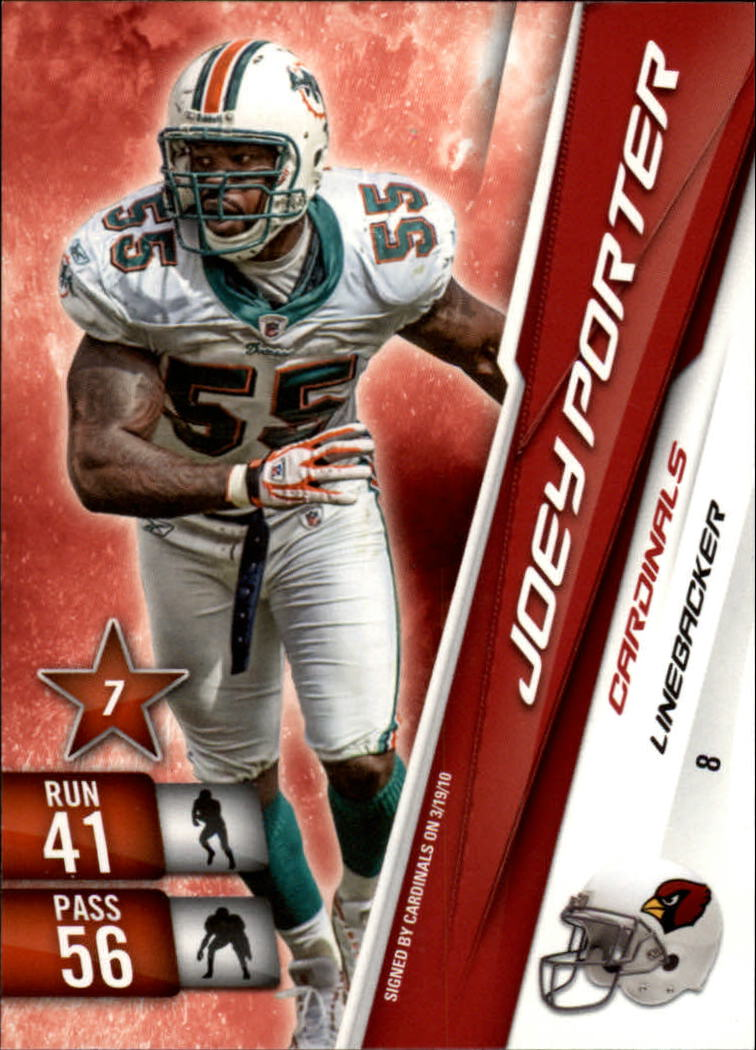 2010 Adrenalyn XL #8 Joey Porter