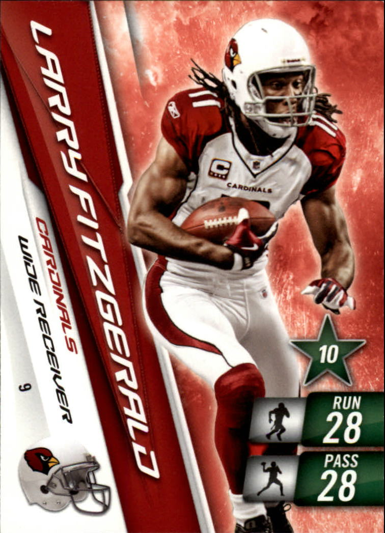 2010 Adrenalyn XL #9 Larry Fitzgerald