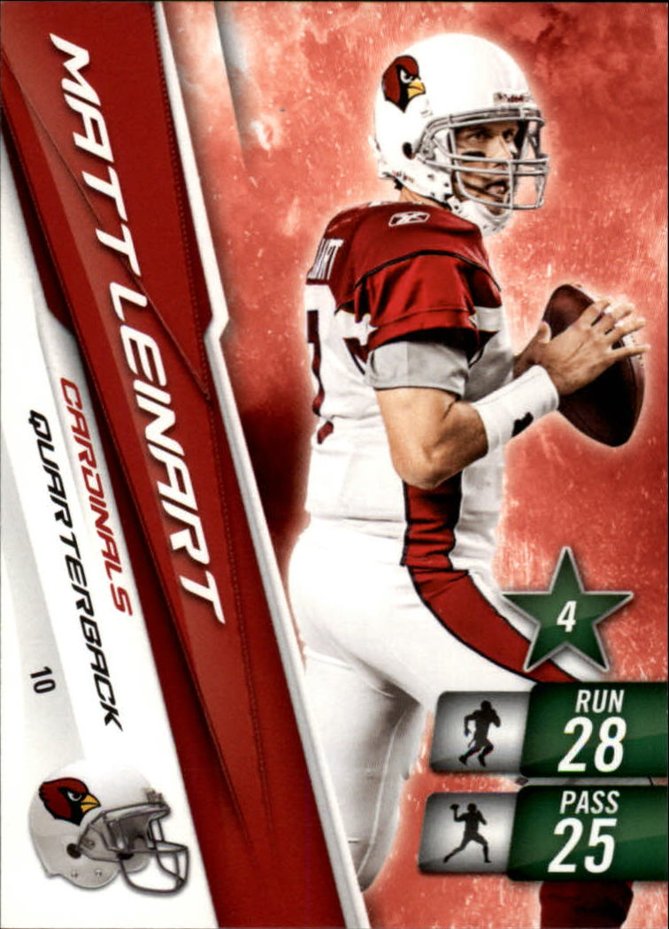 2010 Adrenalyn XL #10 Matt Leinart