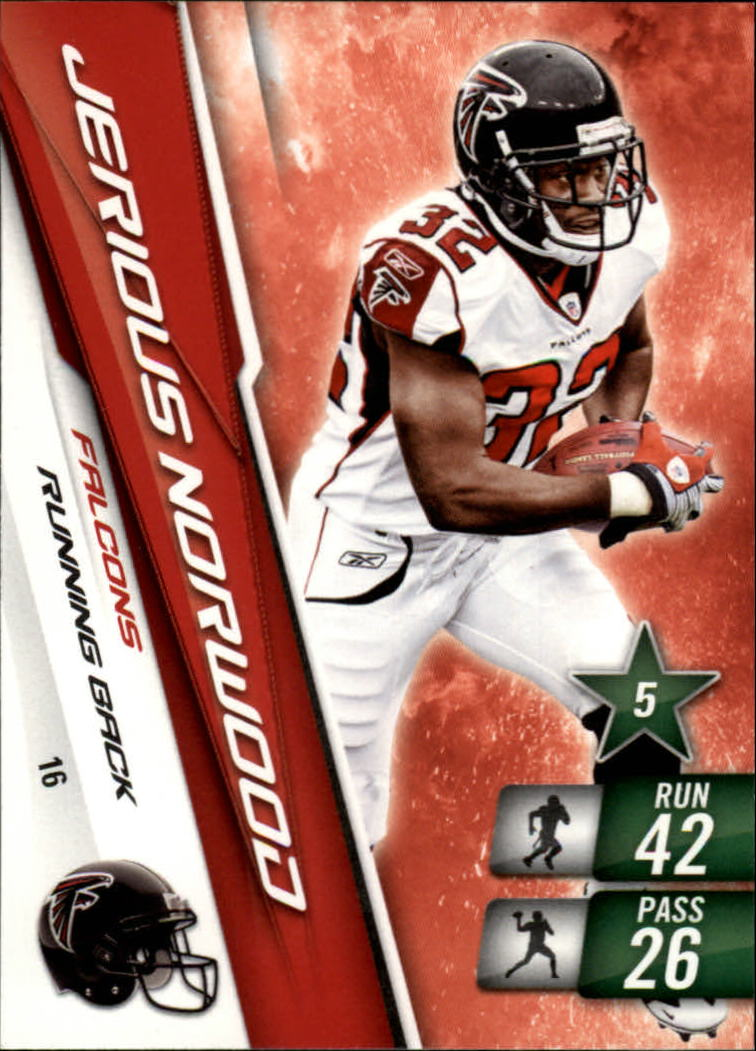 2010 Adrenalyn XL #16 Jerious Norwood