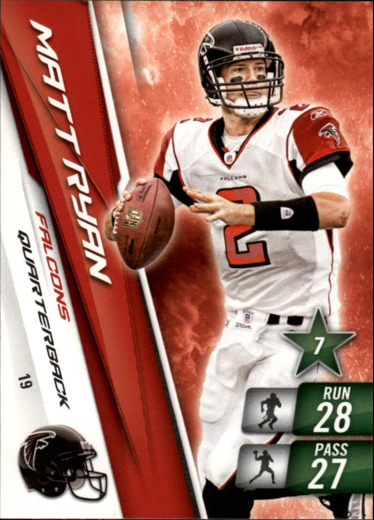2010 Adrenalyn XL #19 Matt Ryan