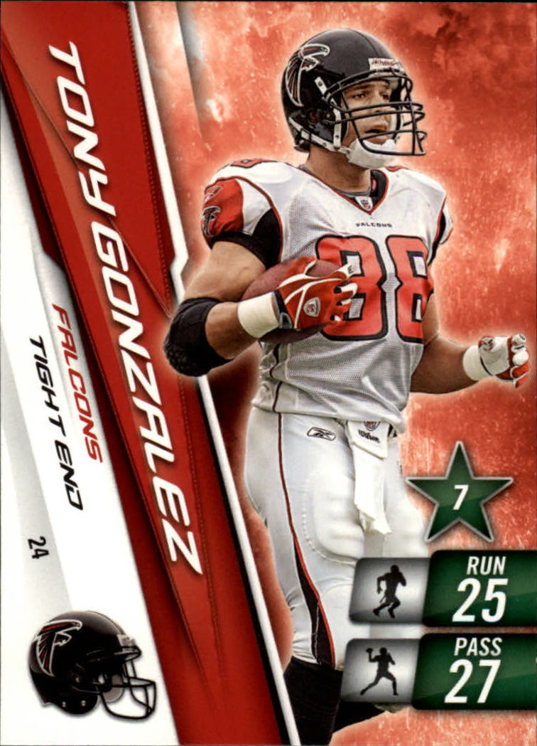 2010 Adrenalyn XL #24 Tony Gonzalez