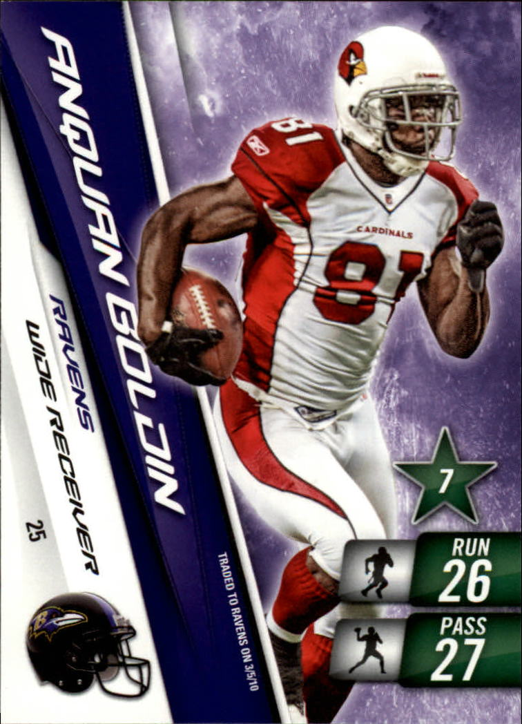 2010 Adrenalyn XL #25 Anquan Boldin