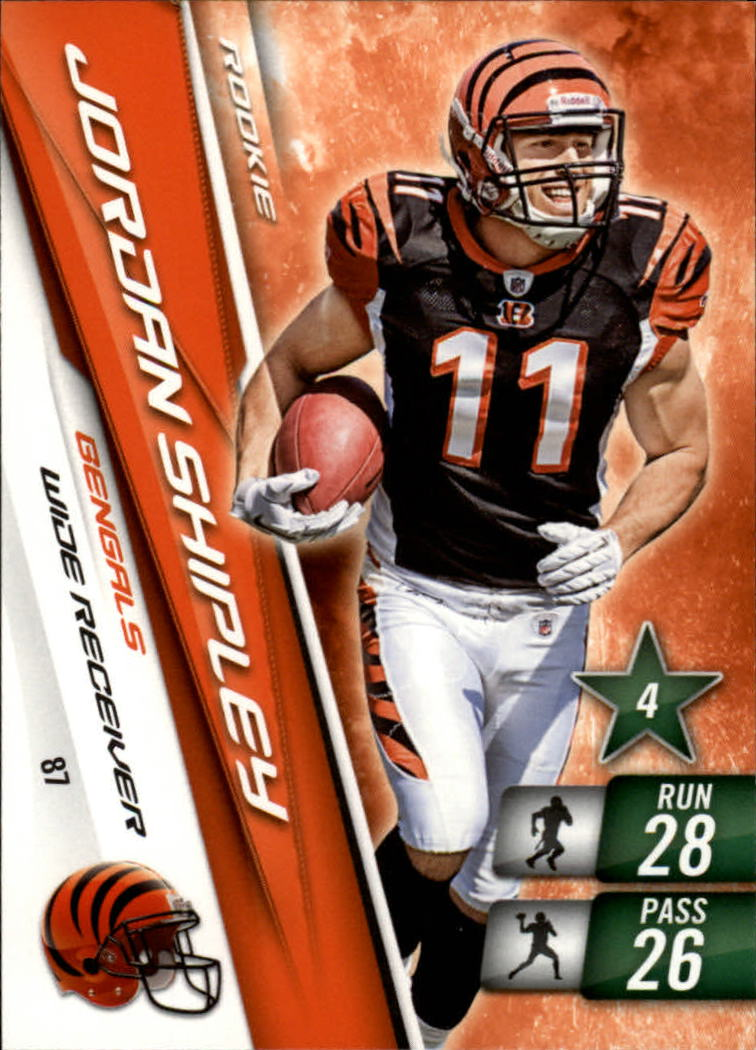 2010 Adrenalyn XL #87 Jordan Shipley RC