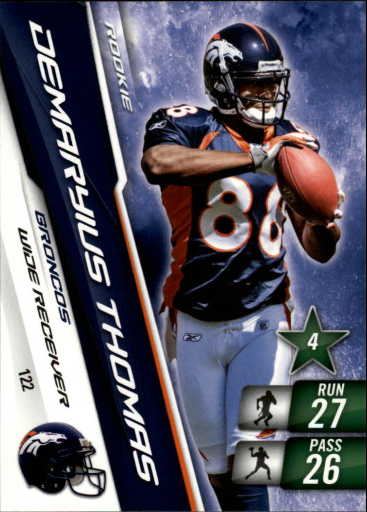 2010 Adrenalyn XL #122 Demaryius Thomas RC