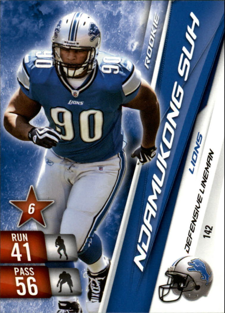 2010 Adrenalyn XL #142 Ndamukong Suh RC