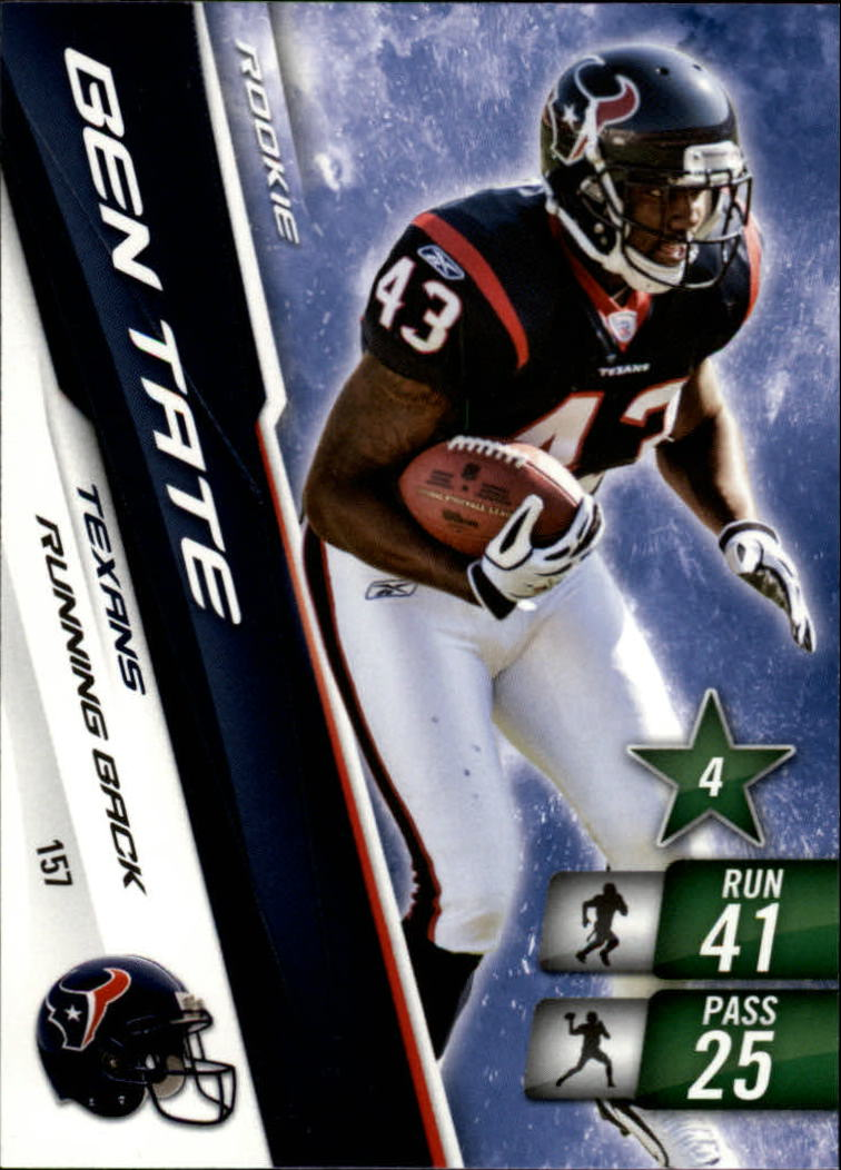 2010 Adrenalyn XL #157 Ben Tate RC