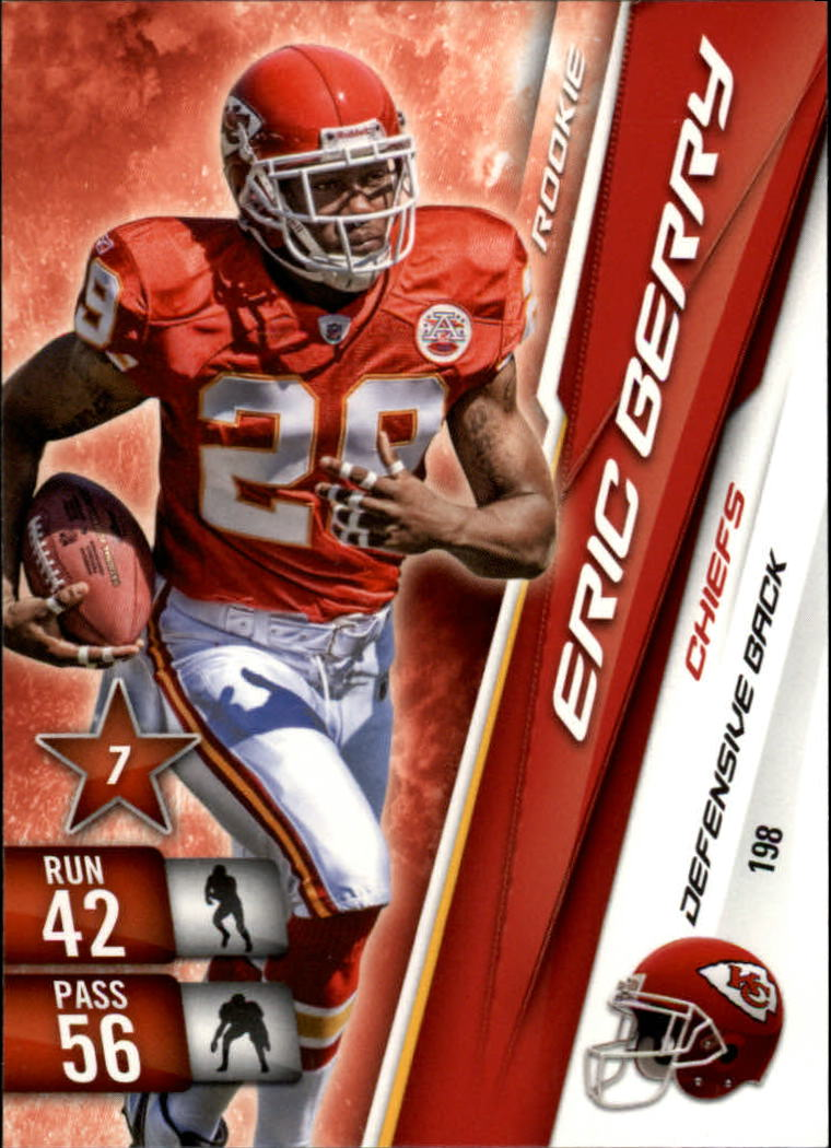 2010 Adrenalyn XL #198 Eric Berry RC