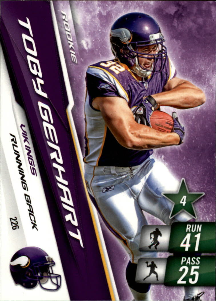 2010 Adrenalyn XL #226 Toby Gerhart RC