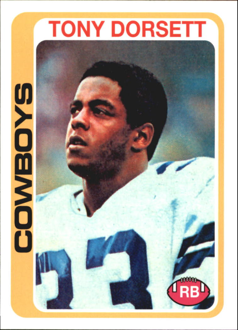 2010 Topps Anniversary Reprints #4 Tony Dorsett