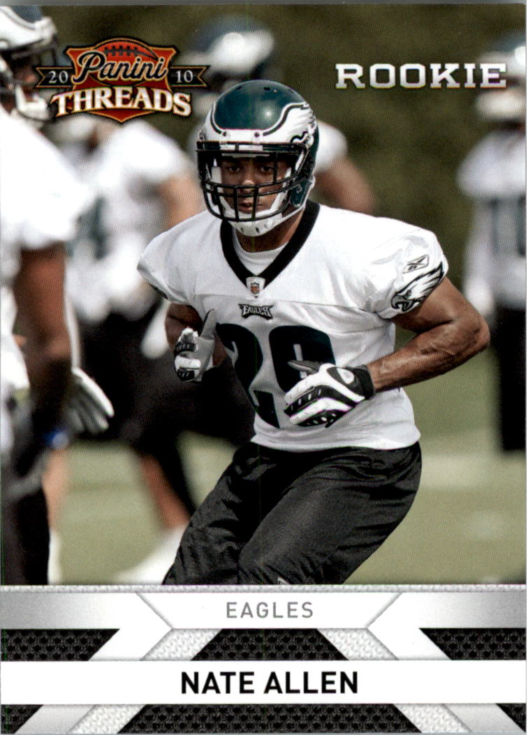 2010 Panini Threads #267 Nate Allen RC