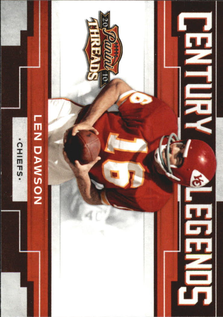 2010 Panini Threads Century Legends #3 Len Dawson