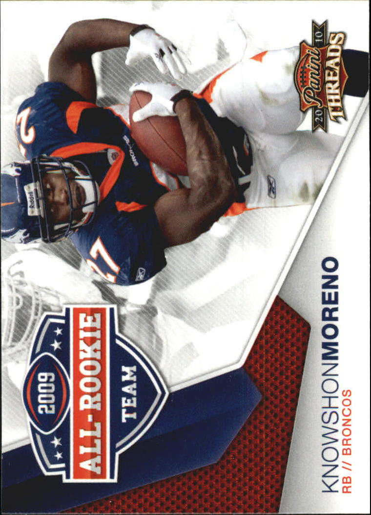 2010 Panini Threads 2009 All Rookie Team #2 Knowshon Moreno