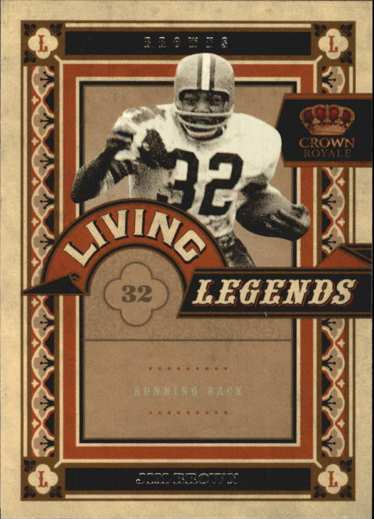 2010 Crown Royale Living Legends #13 Jim Brown