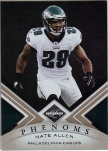 2010 Limited #186 Nate Allen RC
