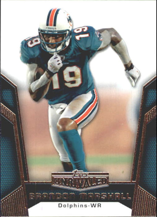 2010 Topps Unrivaled #5 Brandon Marshall