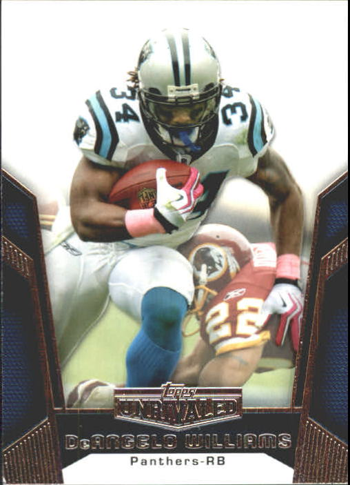 2010 Topps Unrivaled #22 DeAngelo Williams