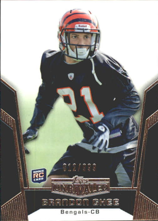 2010 Topps Unrivaled #105 Brandon Ghee RC